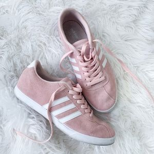Adidas Shoes (gently used) in Blush Pink